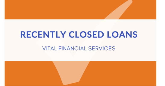 Recently Closed Loans graphic