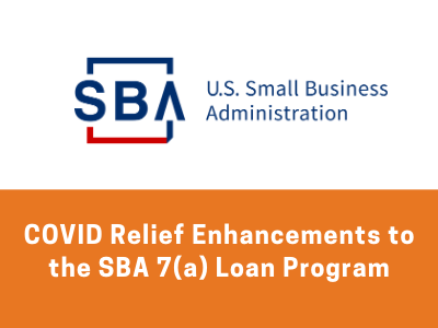 *Updated* What's New with SBA 7(a) Loans in 2021