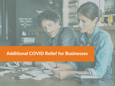 New COVID Relief Bill Makes Additional SBA Funds Available